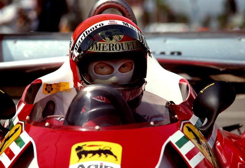 Niki Lauda v dobách své největší slávy
