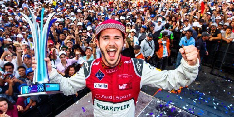 Abt vyhrál poslední závod v MExiku