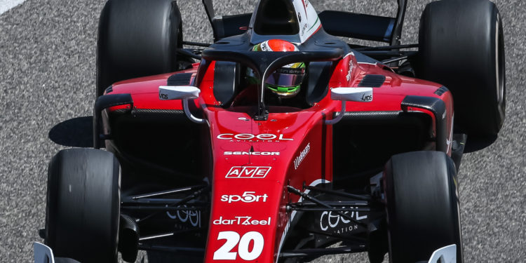 SAKHIR (BH), 20-23 March 2018: F2 Test 2018 at Bahrain International Circuit. Louis Deletraz #20 Charouz Racing System. © 2018 Sebastiaan Rozendaal / Dutch Photo Agency