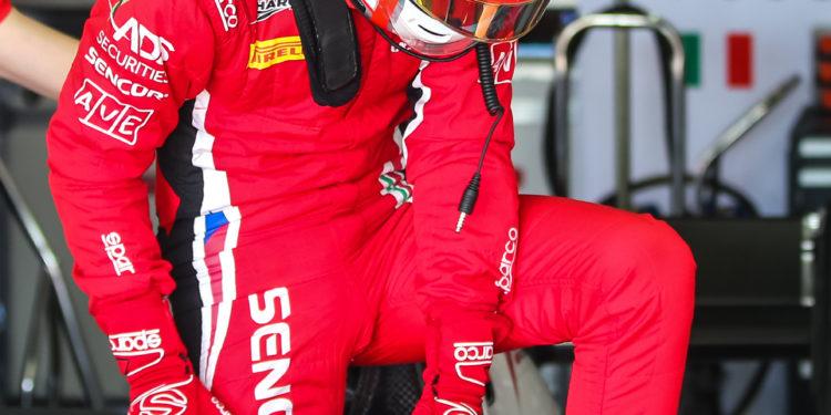 SAKHIR (BH), 20-23 March 2018: F2 Test 2018 at Bahrain International Circuit. Antonio Fuoco #21 Charouz Racing System. © 2018 Sebastiaan Rozendaal / Dutch Photo Agency
