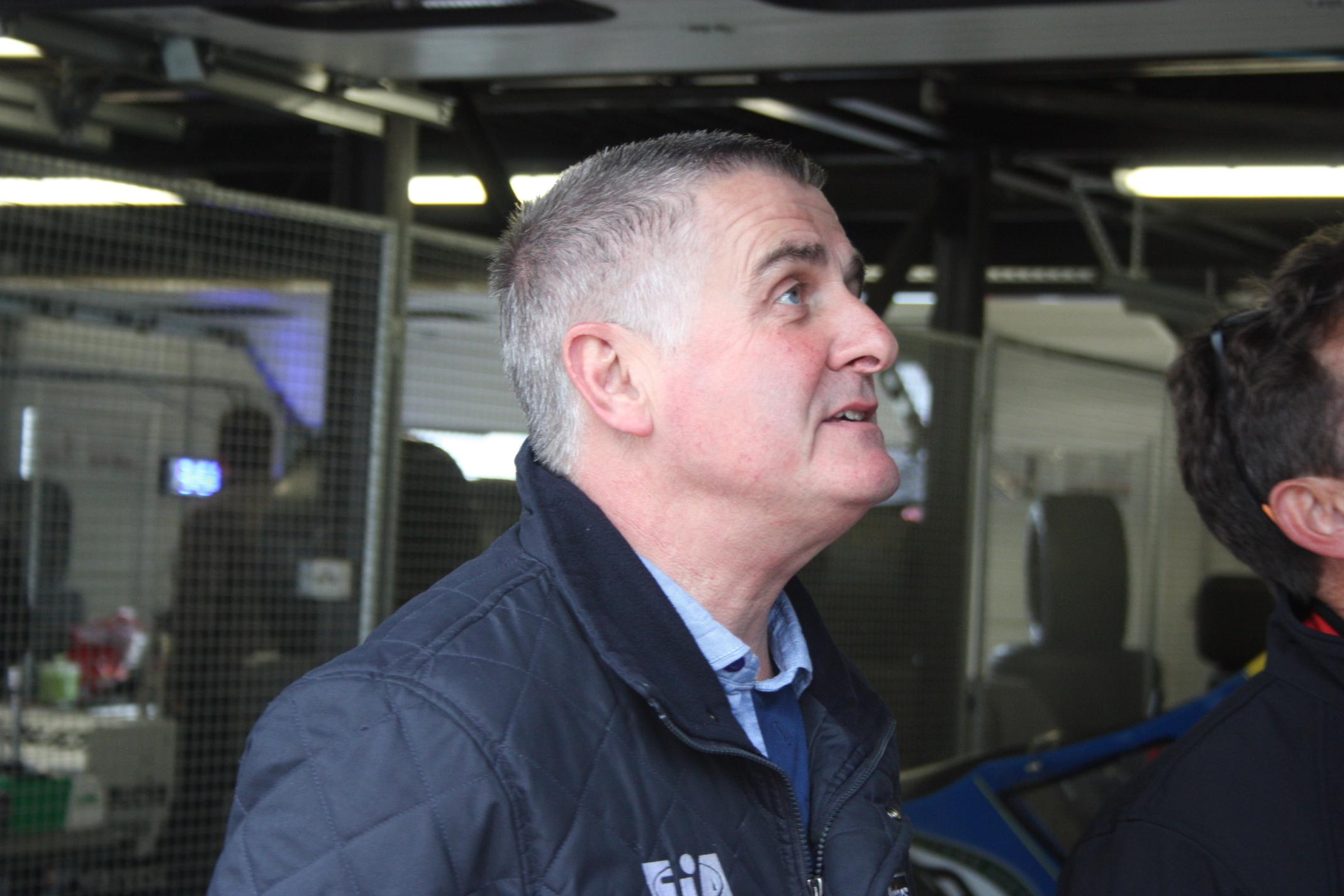 Byl v Mostě v roli delegáta FIA: Bývalý pilot Lotusu-F1 Martin Donelly