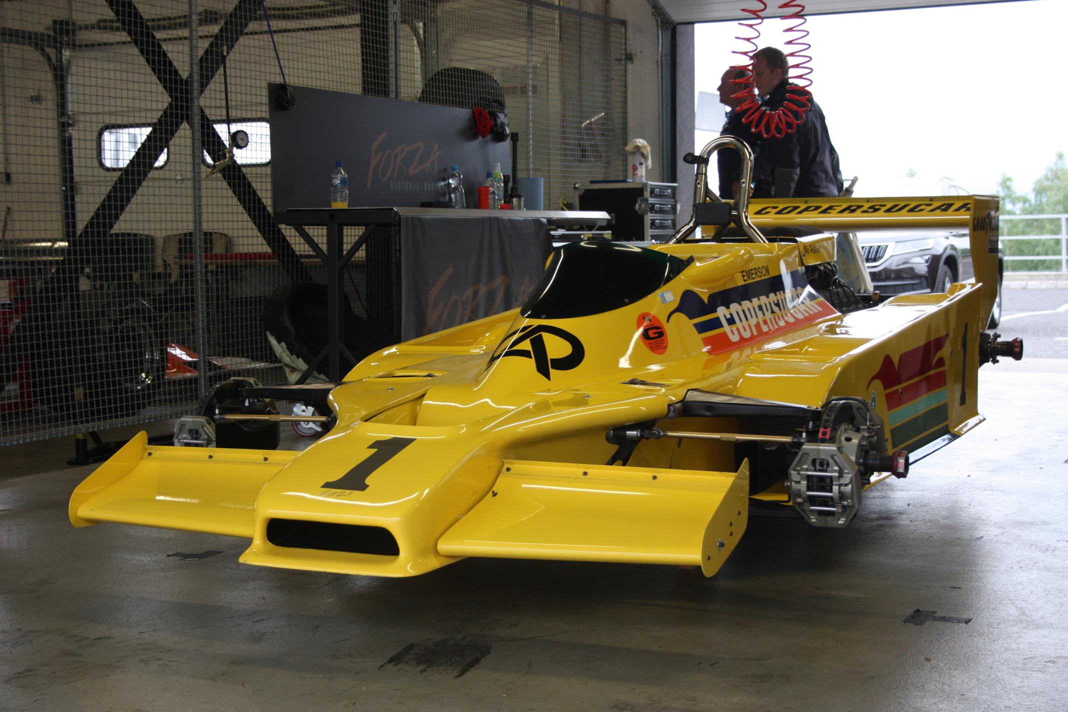 Fittipaldiho nesplněný sen: Brazilský vůz s číslem 1 mistra světa...