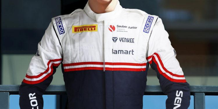 Arthur Leclerc, pilote en championnat de France F4 FIA, ici sur le quai Antoine 1er à Monaco - frère de Charles Leclerc, pilote formule 1 chez Alfa-Romeo Sauber