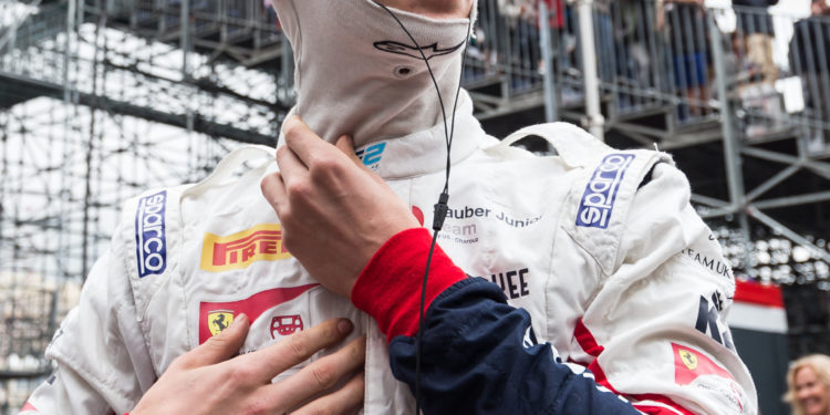 MONACO (MC), May 23-26 2019. Grand Prix de Monaco. Callum Ilott #11 Sauber Junior Team by Charouz. © 2019 Sebastiaan Rozendaal / Dutch Photo Agency