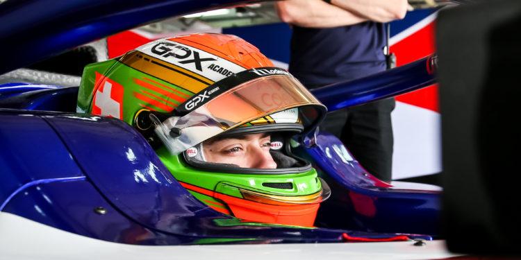SAKHIR (BH), 01-03 March 2020: F2 and F3 test Bahrain 2020 Bahrain International Circuit. Louis Deletraz #11 Charouz Racing System. © 2020 Sebastiaan Rozendaal / Dutch Photo Agency